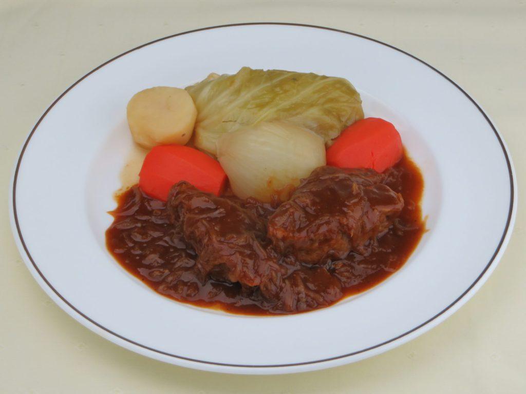 Carbonnade de bœuf à la flamande(牛肉のビール煮 フラマンド風)