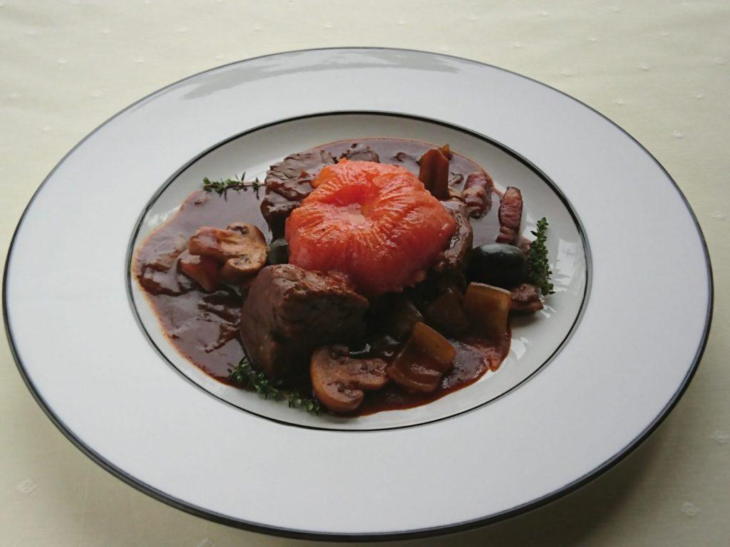 Estouffade de bœuf Provençale(牛肉の煮込みプロヴァンス風(エストゥファード))