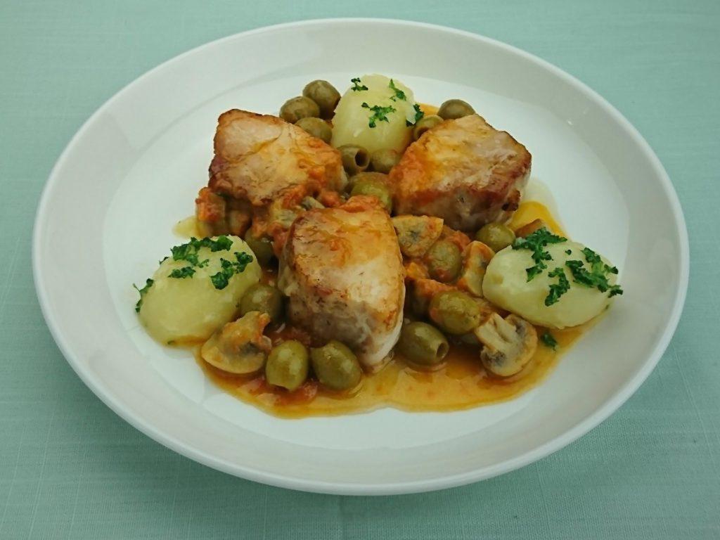 Porc mijoté à la Provençale(豚肉のプロヴァンス風煮込み)