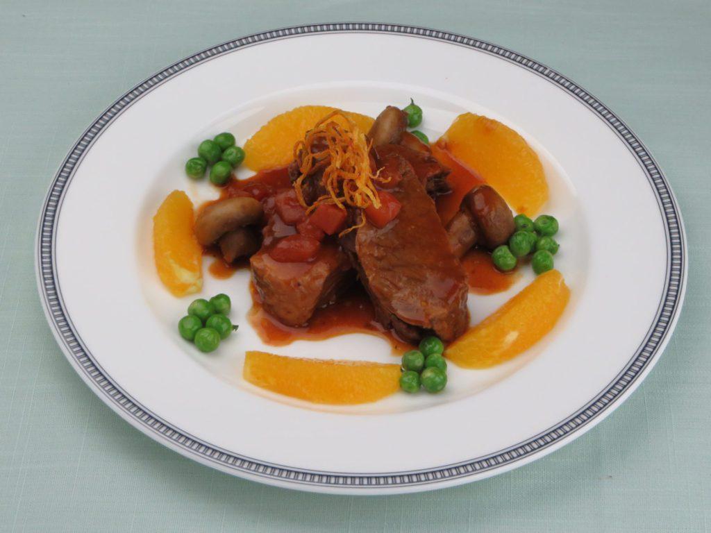 Ragôut de bœuf  à l'orange(牛肉のオレンジソース煮)