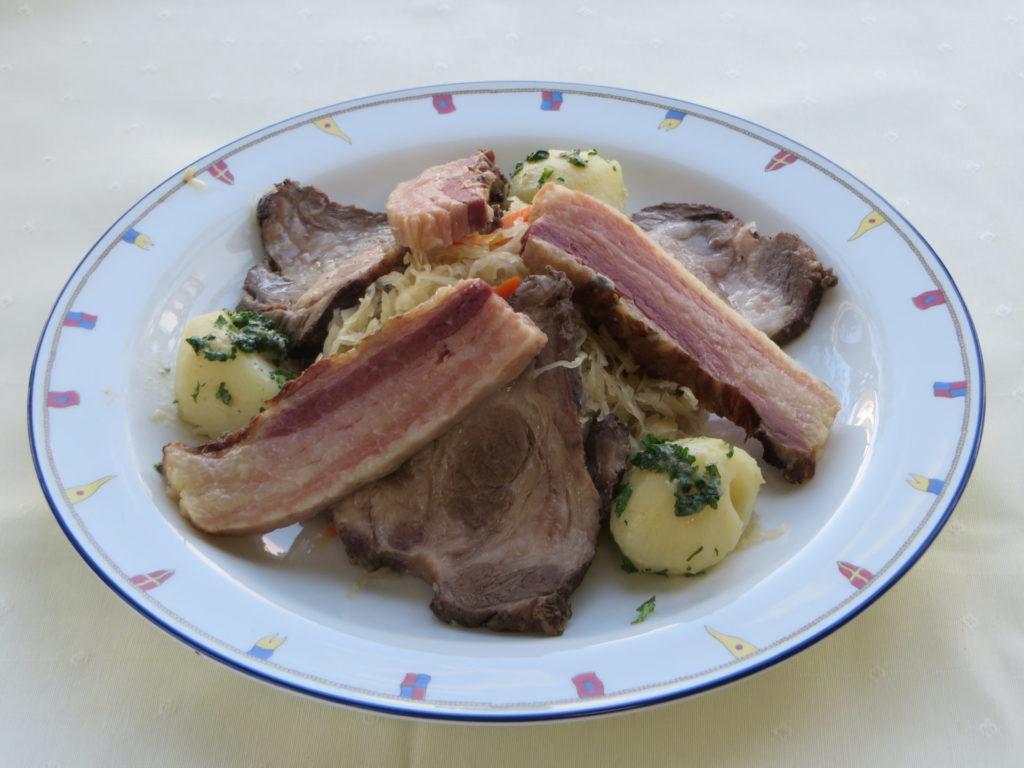 Porc de Ibérique Alsacienne(イベリコ豚のアルザス風)
